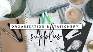NEW Organization & Stationery Supplies For Back To Uni