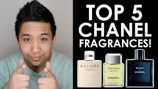 TOP 5 CHANEL FRAGRANCES! | CascadeScents