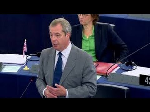 Nigel Farage: EU Parliament 'declaring war' on Brexit talks