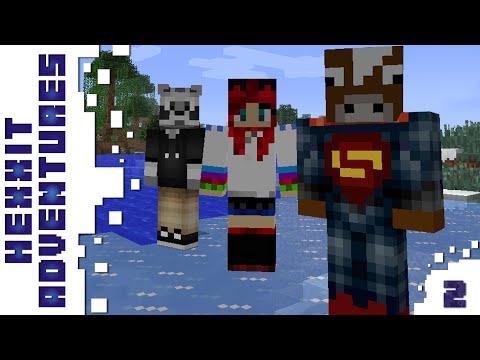 Minecraft - Hexxit - Felkészülés a Harcra - 2. rész - /w Zsömi, Ádám