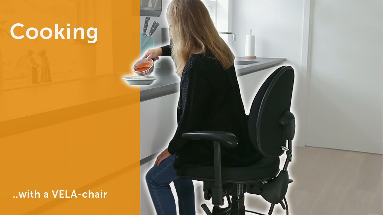 Cooking - With a VELA-chair