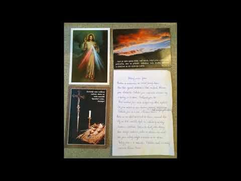 Dopis jasnovidné paní Marie