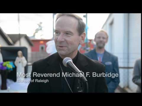 Wilmington Catholic Radio Expanision Ribbon Cutting
