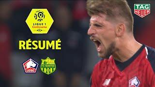 LOSC - FC Nantes ( 2-1 ) - Résumé - (LOSC - FCN) / 2018-19