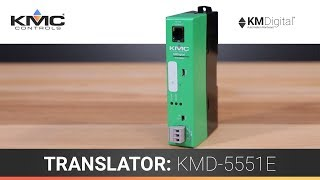 KMC Controls' KMD-5551E Translator
