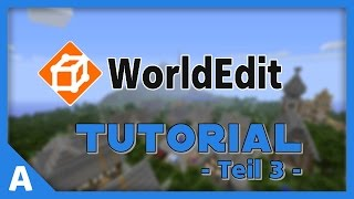 WorldEdit Plugin Tutorial - Teil 3 [Deutsch]