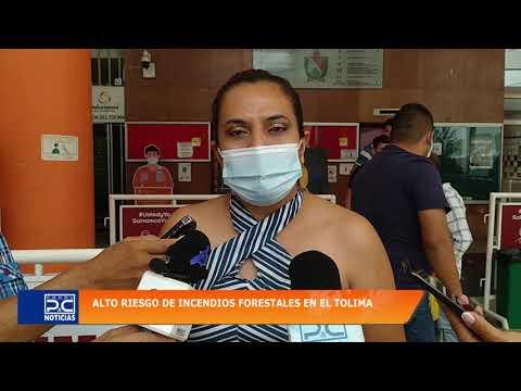 Lérida y Mariquita primeros municipios en reportar incendios forestales