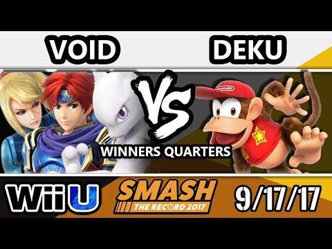 STR 2017 Smash 4 - CLG | Void (ZSS, Roy, Mewtwo, Fox, Sheik)  Vs.DyS | Deku (Diddy Kong) - WiiU WQ
