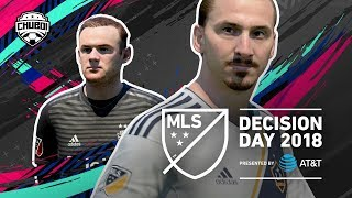Will Ibrahimovic Make the Playoffs?! FIFA 19 Predicts MLS Decision Day 2018!