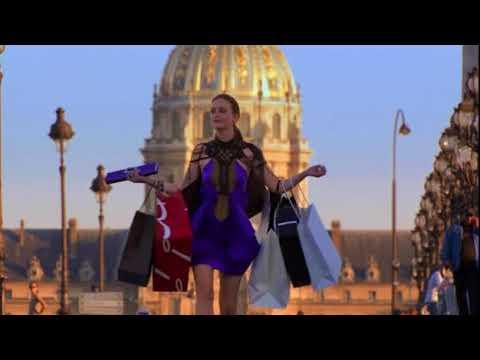 Gossip Girl - Blair and Serena in Paris
