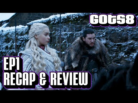 Game of Thrones Season 8 Episode 1 Explained | 'Winterfell' S8 E1 Recap & Review