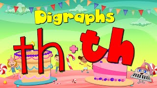 Digraphs/ Voiced-Unvoiced/ Th And Th / Consonants/ Phonics Song