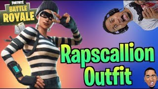 NEW Rapscallion Outfit SKIN! Fortnite Battle Royale