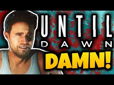 THE FIRST DEATH! - Until Dawn Funny Moments