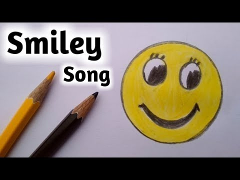 How To Draw Smiley Face Emoji Step By Step||Gali Gali Art||