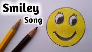 How to draw smiley face emoji step by step||Gali Gali Art||