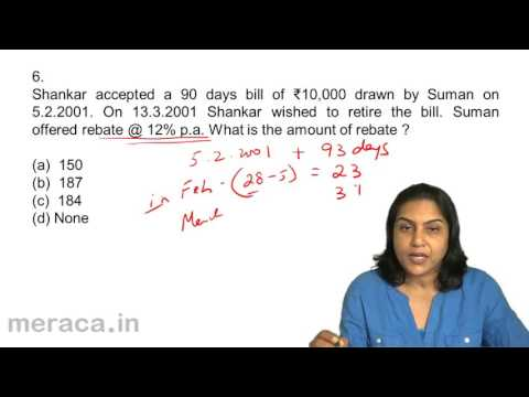 Questions and Answers | Bills of Exchange Accounting | CA CPT | CS & CMA | Class11 | Class12