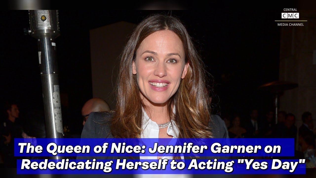 The Queen of Nice: Jennifer Garner on Rededicating Herself to ...