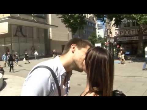 Ein Kuss am Tag des Kusses