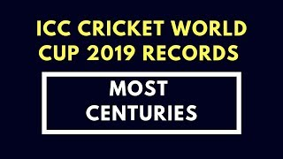 Top 10 Batsman With Most Centuries In ICC Cricket World Cup 2019