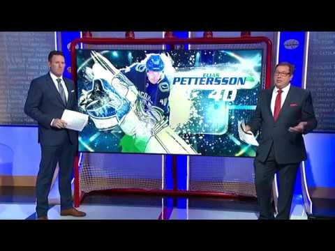NHL Now:  Pettersson`s creative assist drawing attention  Nov 5,  2018