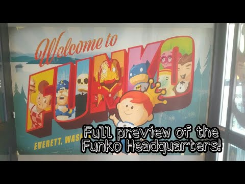 We had a blast at the Funko Headquarters, WA