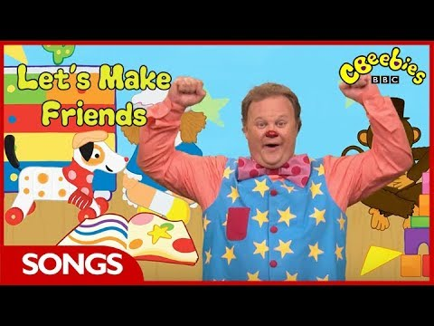 CBeebies | Something Special | Mr Tumble's Friends Song