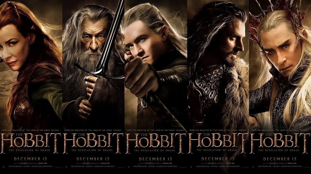 The Hobbit The Desolation Of Smaug 2013 Trailer Soundtrack 1080p Youtube
