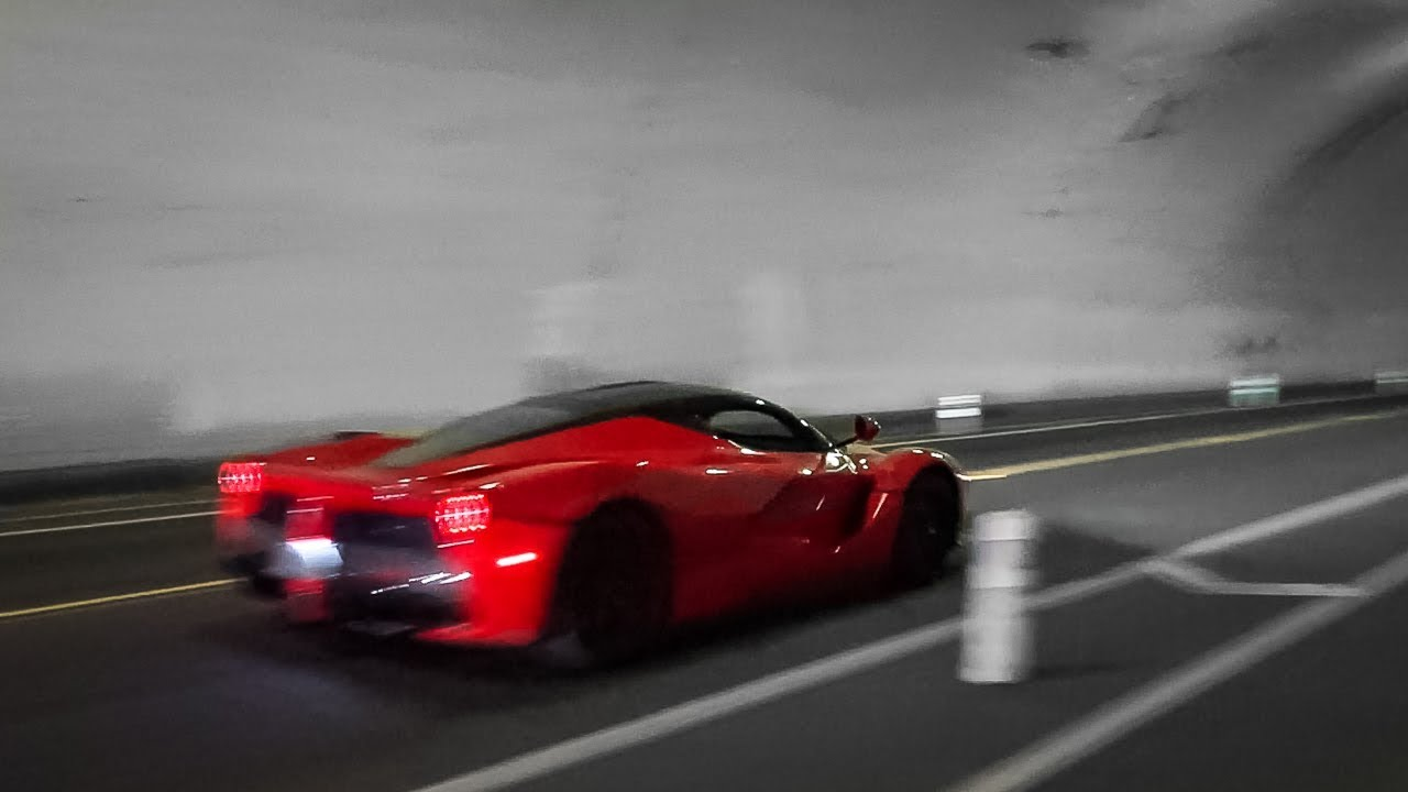 This $3.8 Million STRAIGHT PIPED Laferrari Shoots Flames