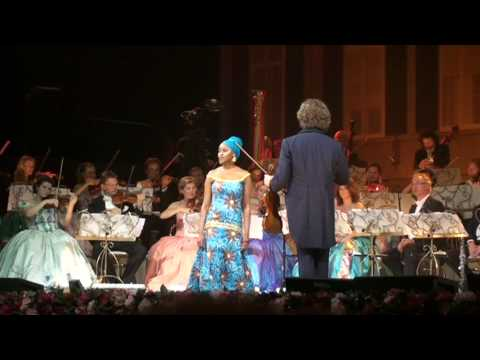 My African Dream sung by Kimmy Skota and the Bloemfontein child choir, Carmen and Mirusia