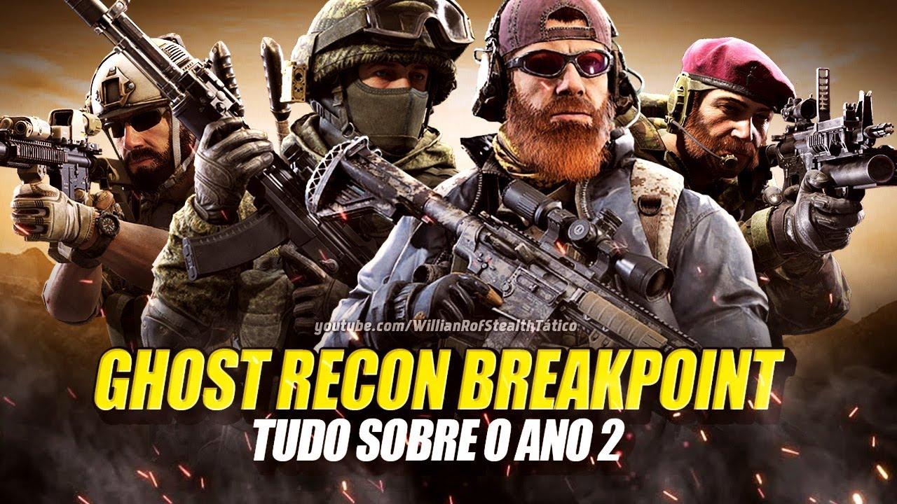 Ghost Recon Breakpoint - ANO 02 | Tudo sobre a primeira grande atualização – UPDATE 4.0.0