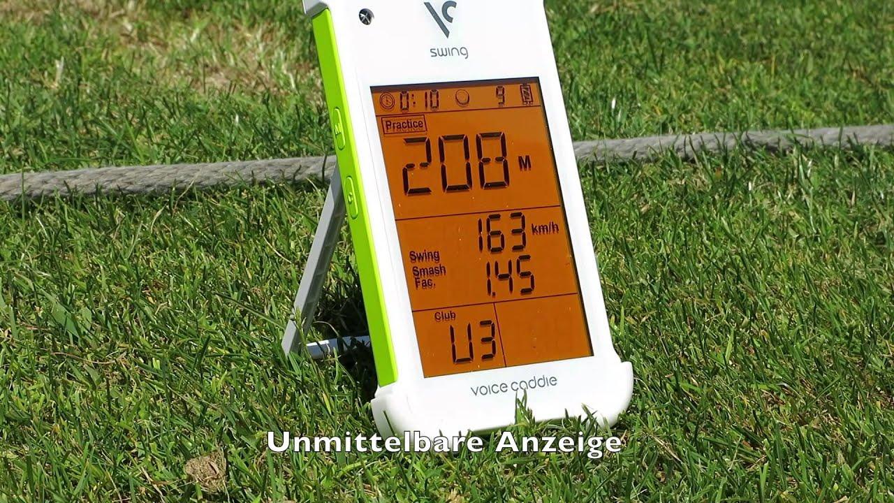 Swing Caddie Sc100 Praktischer Golf Launch Monitor