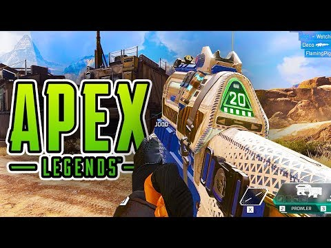 BEST WEAPONS KILL MONTAGE!!! - Apex Legends Battle Royale Gameplay