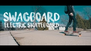SPEED + DISTANCE TEST : SWAGBOARD NG-1 ELECTRIC SKATEBOARD