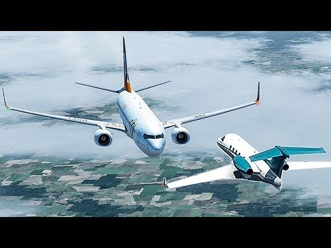 A Boeing 737 Collides With a Jet at 37,000ft | Phantom Strike | GOL Airlines 1907 | 4K