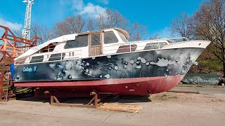 Last Days on Land for Our Boat - Week 29 - Vintage Yacht Restoration Vlog