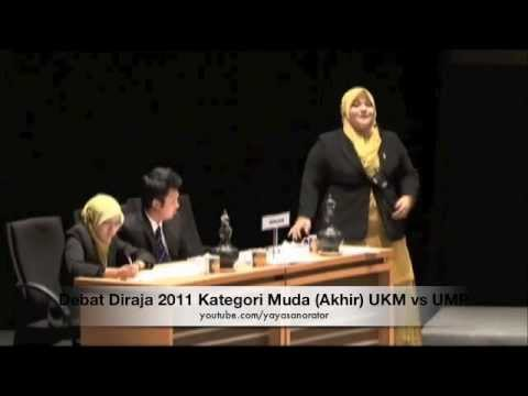 Debat Diraja 2011 Kategori Muda (Akhir) UKM vs UMP