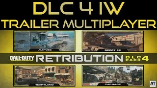 REVEAL TRAILER DLC 4 RETRIBUTION MAPPE MULTIPLAYER [INFINITE WARFARE ITA]