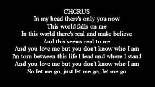 3 Doors Down - Let me go Lyrics