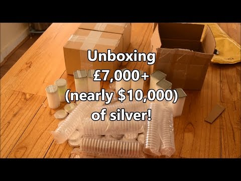 Unboxing $10,000+ of silver - A delivery from The European Mint!