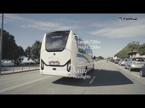 NordBuss Atomic coaches