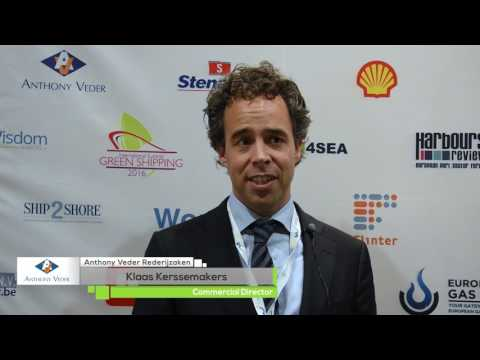 International Green Shipping Summit 2016 |  Klaas Kerssemakers, Commercial Director, Anthony Veder