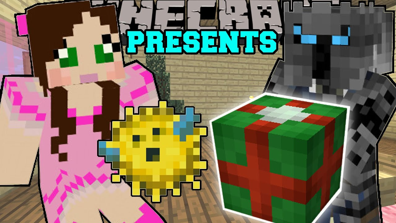 Minecraft: CHRISTMAS PRESENTS (GET EPIC GIFTS FROM SANTA!) Custom ...