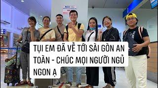 Anh Khương Dừa và các Đệ tử đã về lại Sài Gòn An Toàn -  Hẹn gặp Lại Bà Con Miền Trung vài ngày nữa