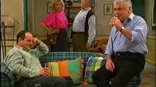 Neighbours Rare Scene Drunken Harold With Madge Lou & Phil