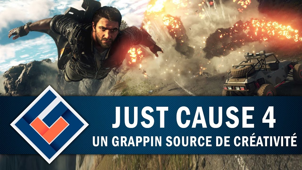 JUST CAUSE 4 : Un Grappin source de créativité | GAMEPLAY FR