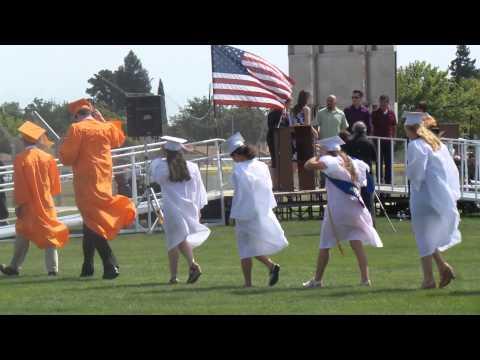 woodland high school graduation 6-14-2014 part 4 WOODLAND CA