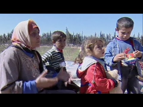 Syria's refugees seek safety in Lebanon