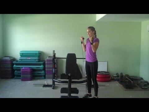 EZ Low-Impact Workout Routine with Resistance Bands (Home)