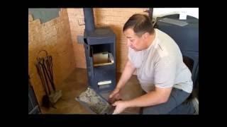 Испытание универсальной печи ''Стрельна'' в режиме подового горения, часть 2